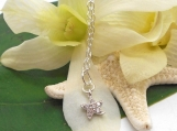 Tiny Sterling Starfish Necklace