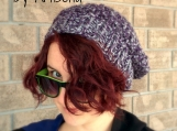 Super Chunky Cable Knit Winter Hat - Slouchy Beanie - Boho - Boho hat - Unisex