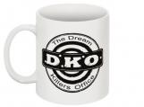 DKO logo mug black