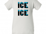 """Ice Ice"" White Creeper Baby Onesie"