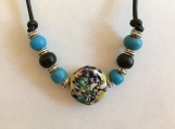 Circular bead necklace