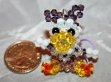Daisy Duck Handmade Crystal Charm
