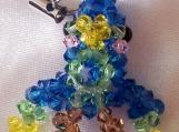 Dino Bird Crystal Handmade Charm