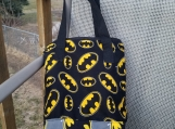 Insulated lunch bag, Batman, waterproof lunch bag, kids lunch bag, adult lunch bag