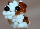 Jack Russell Crystal handmade Charm or Pendant