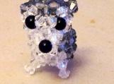 Siberian Husky Handmade Crystal Charm