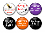 Animals, Rescue, Pets, Lock Back Button
