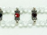 Crystal 2 Row Bracelet, Rhinestone Brackets, Mothers Day Gift