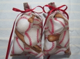 "Baseball 4""X2"" Sachet-'Spiced Plum' Fragrance-Cindy's Loft-336"