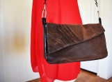 Brown Crocodile Purse