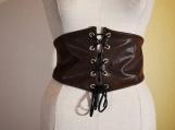 Desert Warrior Faux Leather Belt- Brown