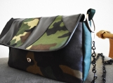 Green Camouflage Purse