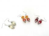 Handmade Bead Earrings - Memet Fire Collection