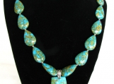 Trapezoid Turquoise Necklace