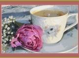 A Cup Of Coffee Cross Stitch Pattern