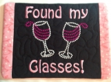 Found my Glasses Mug Rug Great Gift for Grad!