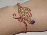 Autumn Leaves bracelet, leaf bracelet, elven bracelet