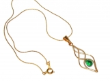 Elven Light pendant, elven pendant, elegant  elven necklace