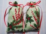"""Christmas 5""""X2"""" Sachet-'Balsam Fir(type)' Scent-Cindy's Loft-538"""