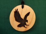 Eagle Necklace, Spirit Animal Jewelry, Bald Eagle Pendant, Native American jewelry, Handcrafted pendant