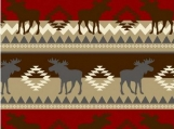 """Made To Order Throw size 56"""" x 62""""  item # 586"""