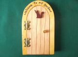 Opening Fairy Door, Cat Door, Gnome, Elf, Leprechaun, Medieval decoration, Wee Folk Magical Door, Garden Decoration, Hinged Fairy Door