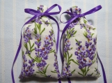 "Purple 4""X2"" Sachet-'French Lavender' Scent-Cindy's Loft-330"