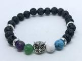 Anxiety Owl Diffuser Bracelet