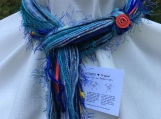 Blue Original Necknot Yarn Scarf