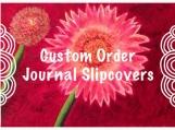 Hand-painted Journal Slipcovers: Custom, Refillable