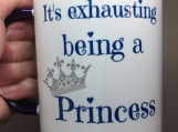 Sumblimation Mug --Princess