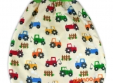 "COMFY Baby pouch, sleeping bag, swaddle bag ""Rainbow Tractors"""