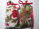 "Christmas 4""X2"" Red Sachet-'Holiday Wassail' Fragrance-448"