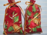 "Christmas 5""X2"" Red Sachet-'Holiday Memories' Fragrance-233"