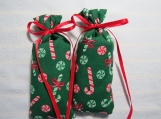 "Christmas Green 4""X1.5"" Sachet-'Christmas Dreams' Fragrance-571"