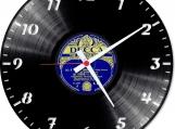 classic Loop-store  handmade vintage vinyl design clock