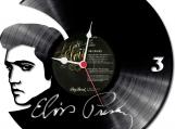 Elvis 1 Loop-store handmade vintage vinyl design clock