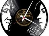 Honeymoon Loop-store handmade vintage vinyl clock