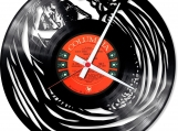Hug me Loop-store handmade vintage vinyl clock