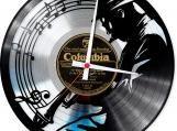 Michael Jackson 3 Loop-store handmade vintage double vinyl clock