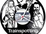 Trainspotting 1 Loop-store handmade vintage vinyl clock