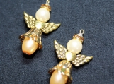 Gold and Peach Angel