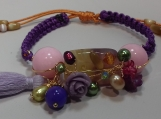 Purple Exotic Bracelet  - ALBR002
