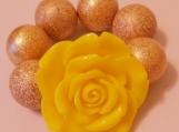 Toddler's Chunky Yellow Flower Bracelet