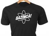 Bazinga! T-Shirt, from Sheldon on Big Bang Theory
