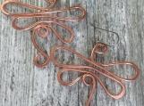 Copper Dragonfly Earrings