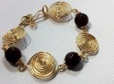 Four spiral bracelet - PABR027