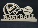 Personalized Basball Plaque