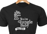 You know where you are...the Jungle Baby  GNR custom t-shirt of