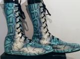 Custom made boots and wrist cuffs